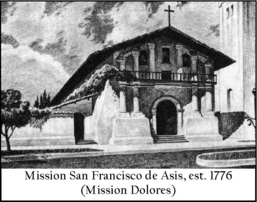 Ohlone Indians Dancing at Mission Dolores, San Francisco, CA Drawing ...